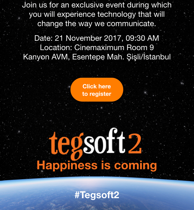 Tegsoft Events!