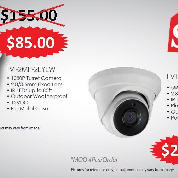 4K CCTV CAMERA SYSTEM SALE!